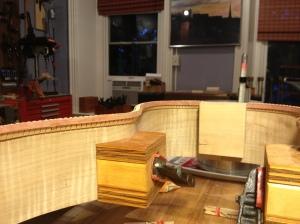 Soundboard kerfing