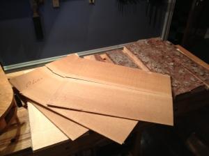 Choco Cedar tops