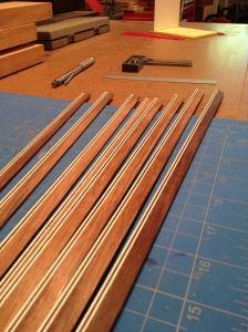 Rosewood binding