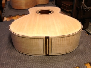 Guitar #4 -Flamed Maple