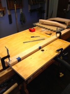 improvised router table
